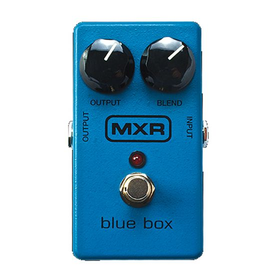 MXR BlueBox Guitar Effects Pedal. The M-103.