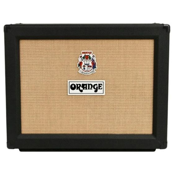 "Orange PPC212 - 120-watt 2x12"" Cabinet Black"