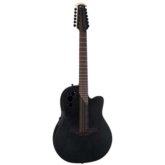 Ovation 2058TX-5 Pro Elite TX 12-String Deep Contour Cutaway Acoustic-Electric