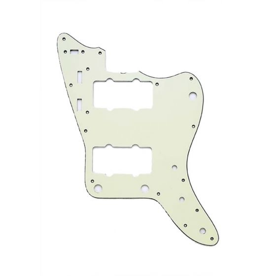 All Parts Pickguard for Jazzmaster, 13 screw holes, 3-ply, Mint Green
