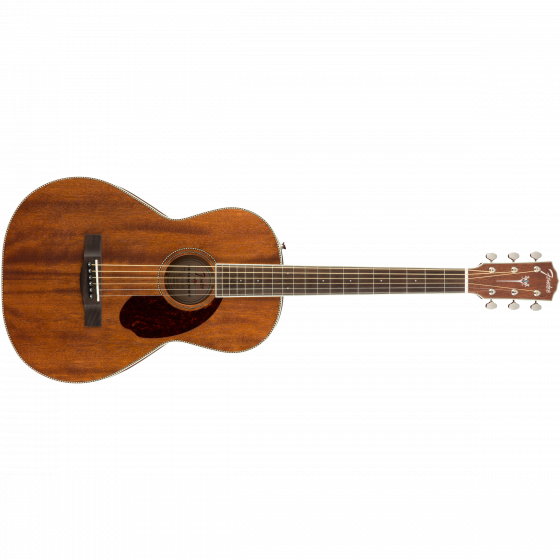 Fender PM-2 Parlor NE, All-Mahogany, Natural