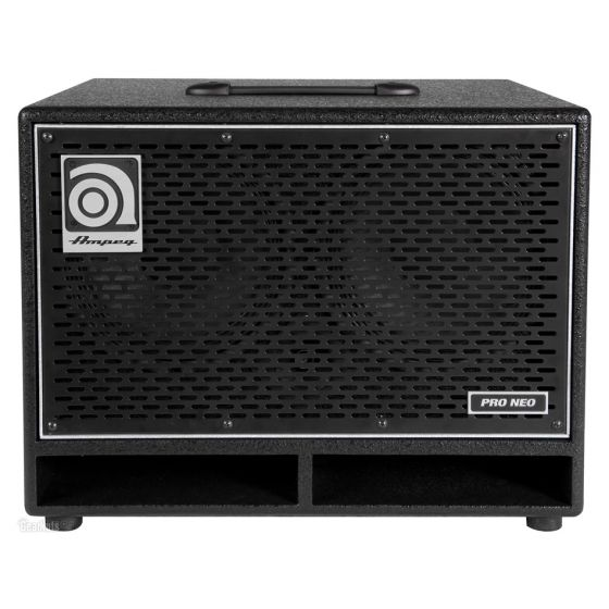 AMPEG PN-210HLF Pro Neo Series Bass Cabinet 550W 2x10 front