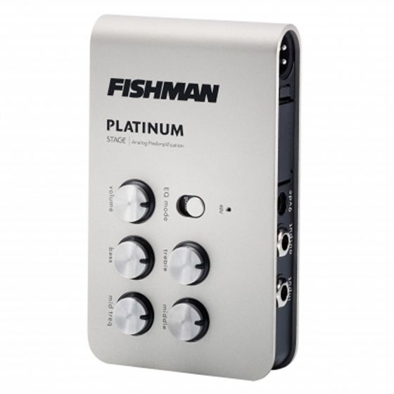 Fishman Platinum Stage Analog Acoustic Guitar Preamp Pedal