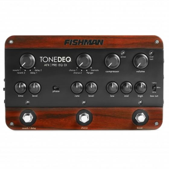 Fishman ToneDEQ AFX Preamp, EQ, and DI with Dual Effects