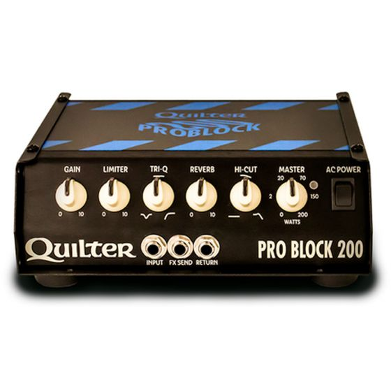 Quilter Labs ProBlock 200 Watt Ultralight Guitar Amplifier Head