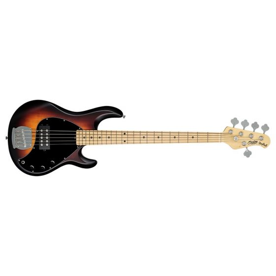 Sterling by Music Man StingRay5, 5-String RAY5-VSBS-M1 Electric Bass - Vintage Sunburst Satin