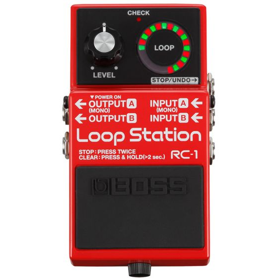 BOSS RC-1 Loop Station  front
