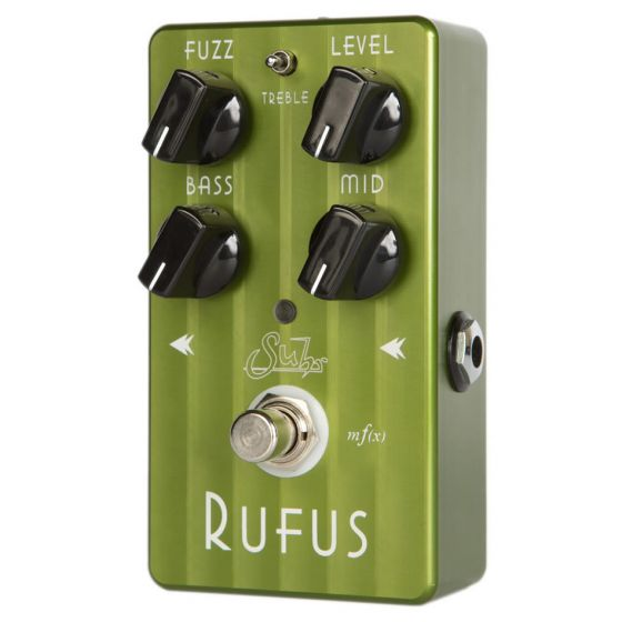 SUHR Rufus Fuzz Effect Pedal Face