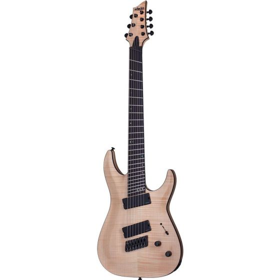 Schecter C-7 Multiscale SLS Elite Electric Guitar, Natural Gloss