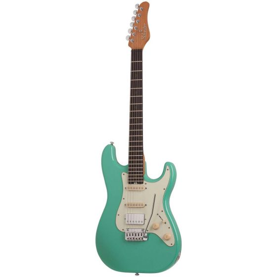 Schecter Nick Johnston Traditional H/S/S, Atomic Green
