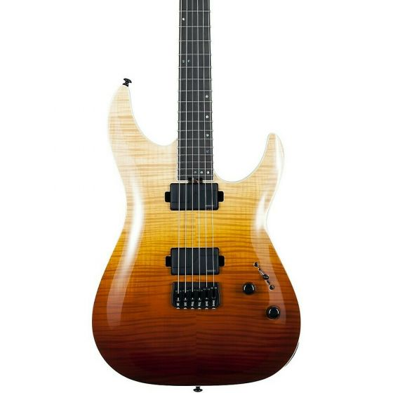 Schecter C-1 SLS Elite Electric Guitar, Antique Fade Burst