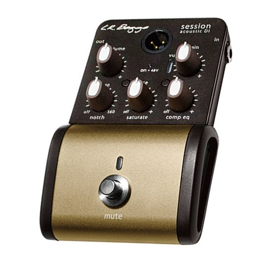 LR Baggs Session DI Acoustic Guitar Preamp Direct Input Pedal