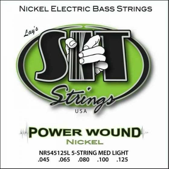 SIT Strings, Bass Power Wound Long 5-string