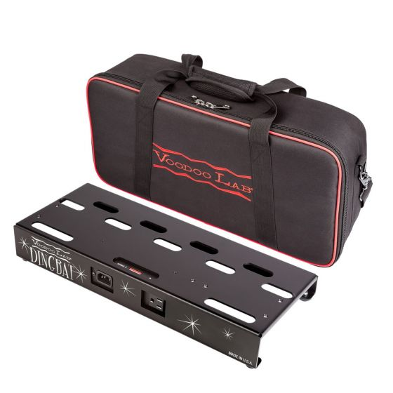 Voodoo Lab Dingbat Small Pedalboard Power Package w/ Pedal Power 2 PLUS w/ case