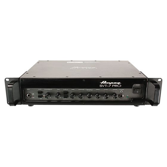 AMPEG SVT-7PRO 1000W Bass Amplifier Head front