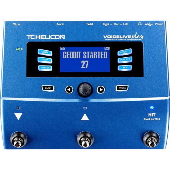 TC Helicon Voicelive Play Vocal Harmony and Multi Effects Processor