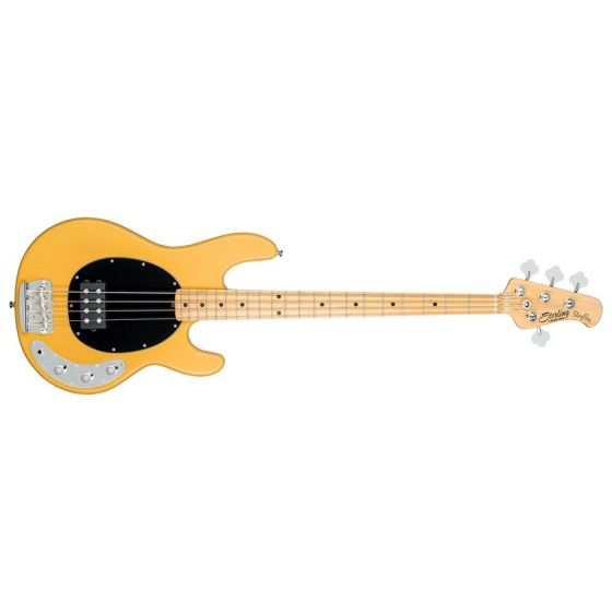Sterling by Music Man StingRay Classic, RAY24CA-BSC-M1 Electric Bass - Butterscotch