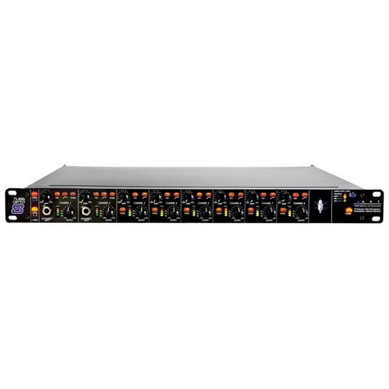 ART TubeOpto 8 - Eight Ch. Mic Preamp with ADAT front