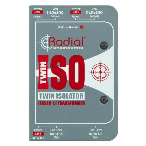 RADIAL Twin ISO front