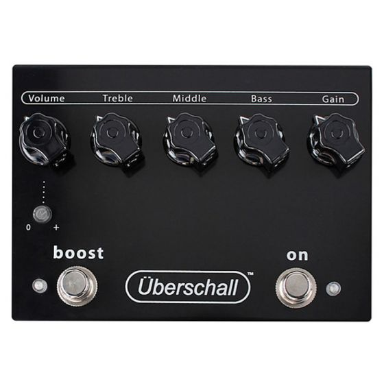 Bogner Uberschall Distortion Guitar Effects Pedal