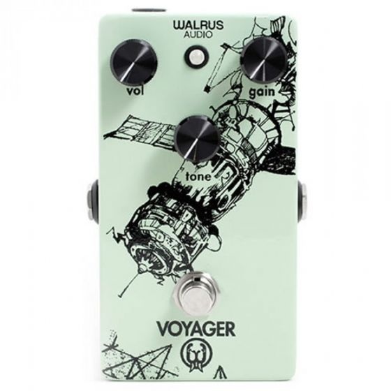 Walrus Audio Voyager Preamp/Overdrive Guitar Effects Pedal USED