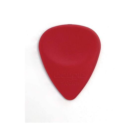 Wedgie WCPP100 1.00mm Clear Red XL Pick 12 Pieces