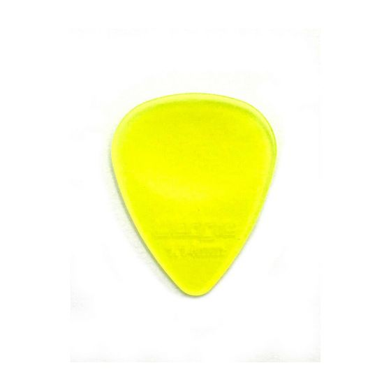 Wedgie Clear XL Pick 12 Pack 1.14mm Yellow