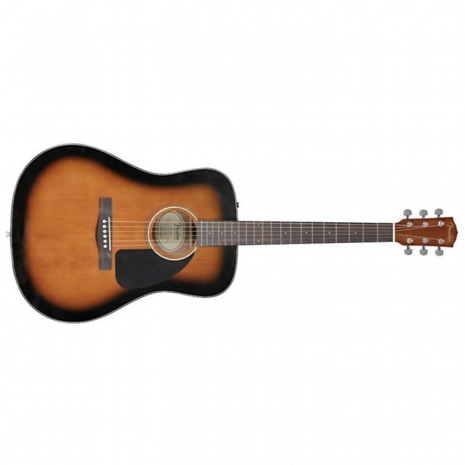 Fender Cd 60 Dreadnought Acoustic Guitar Review Proaudioland Musician News