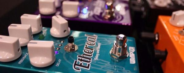 Wampler Ethereal Reverb Delay Guitar Effects Pedal Review