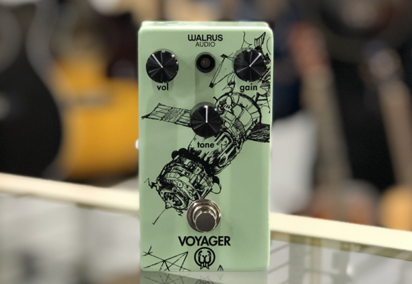Walrus Audio Voyager Preamp/Overdrive Effects Pedal Review