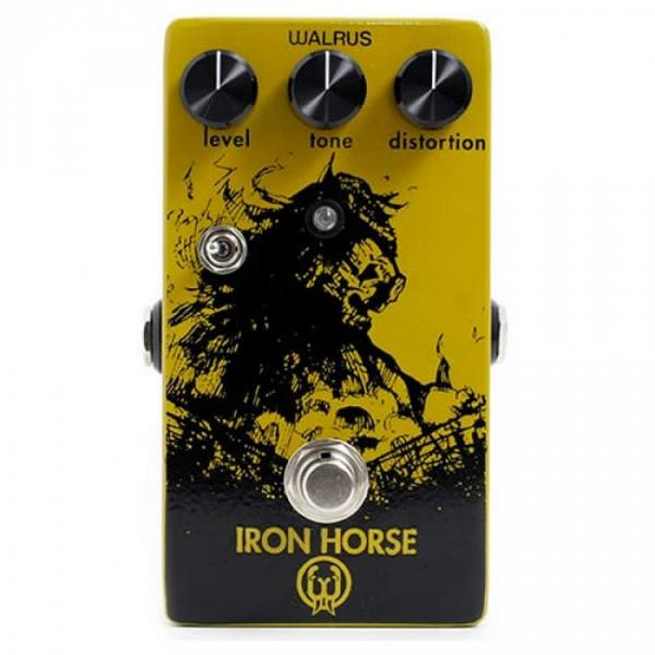Walrus Audio Iron Horse Distortion Effects Pedal Review