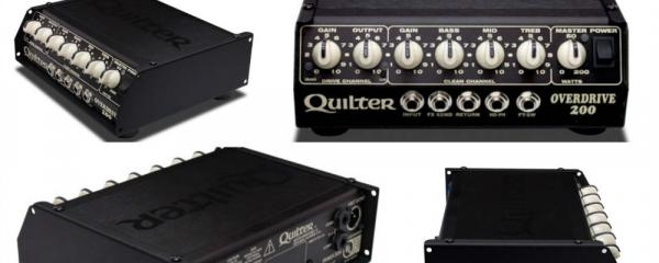A Closer Look At The Quilter Labs Overdrive 200 Multi-Channel Amp Head