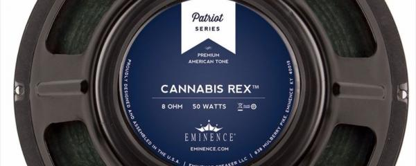 Eminence Cannabis Rex Guitar Speaker Review
